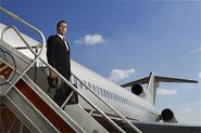 Mad Men S7 Don off plane