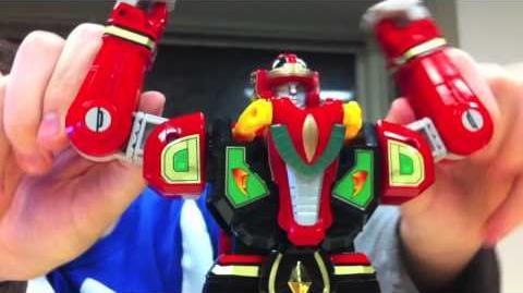 Go Go Parody Rangers - MMPR Thunder Zords