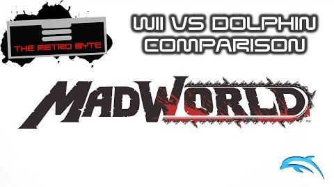 Madworld Dolphin vs Wii comparison - The Retro Byte