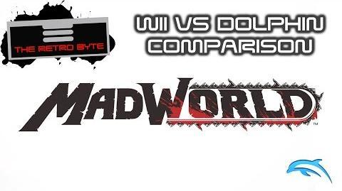 Madworld Dolphin vs Wii comparison - The Retro Byte