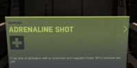 Adrenaline Shot