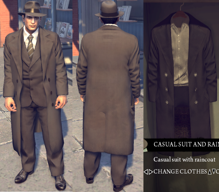 mafia 3 how to change clothes