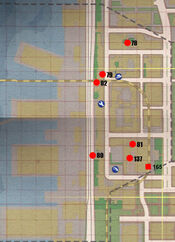 Wanted Poster Map West Side