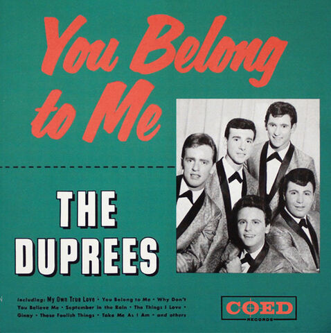 File:The Duprees - You Belong to Me.jpg