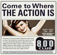 800 Club Ad