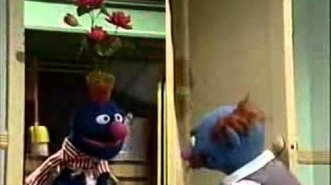 Fat Blue orders From Speedy Pizza Grover is the delivery guy