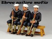 Three sailors