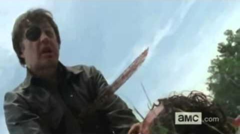 The Walking Dead The Governor's Dies HD The Governor's Death Scene