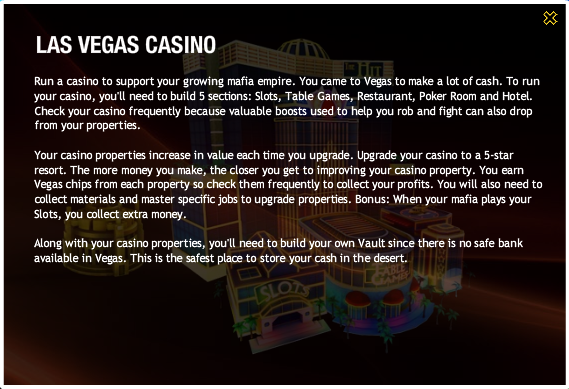 Las Vegas Casino Popup