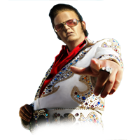 Huge item Elvis Impersonator 01