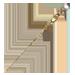 Standard 75x75 collect stickpin pearl