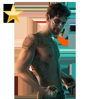 Huge item streetfighter gold 01