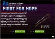 Cane Sword Charity