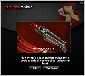 Poker Popup PocketRockets