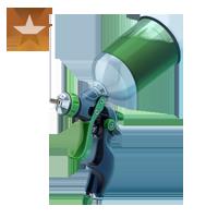 Huge item paintItgreen bronze 01