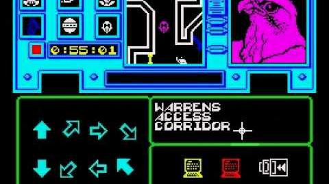 Shadowfire Walkthrough, ZX Spectrum