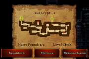 The Crypt - Silver (notes)
