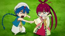 Aladdin vs Kougyoku