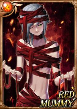 Red Mummy full card