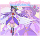 Cure Magical in her Alexandrite Style official art from Toei Website