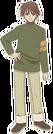 Binzume Yousei Sensei-san pose