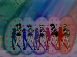 Sailor Moon S Inner Senshi in the Opening