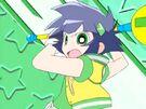 Powerpuff Girls Z Buttercup using her attack8