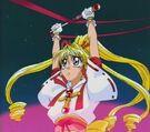 Kamikaze Kaitou Jeanne Kaitou Jeanne using her ribbon4