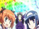 Kaitou Tenshi Twin Angel Tokimeki Paradise The girls in their transformation