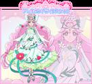 Cure Felice in her Alexandrite Style official art from Toei Website