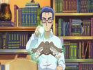 Sasami Mahou Shoujo Club Ginji using his magic