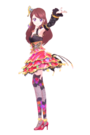 Aikatsu multi color render by wolfloverlisa-d6x9b24