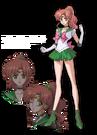 Sailor Moon Crystal Sailor Jupiter pose