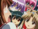Guardian Hearts! Power Up! Hina, Kurusu, Kotona, Hime and Daisy
