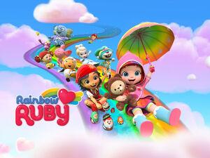 Rainbow Ruby medium