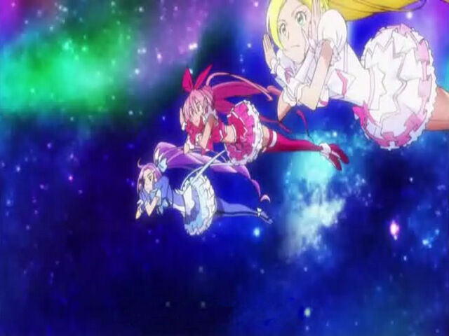 File:Suite Pretty Cure Cure Melody, Rhythm and Beat using the Suite Session Ensemble attack.jpg