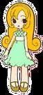 Sweet Valerian Kanako pose