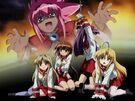 Guardian Hearts! Power Up! Hina, Chelsea, Maya, Kurusu and Hime