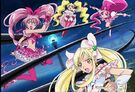 Cure Melody,Peach,Blossom and Echo