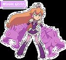 Amethyst, Princess of Gemworld Amethyst using the Nemean Gestus