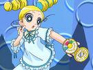 Powerpuff Girls Z Miyako in her transformation (pajamas)