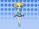 Powerpuff Girls Z Bubbles in episode 35