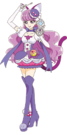 Cure Macaron with her Sweet Pact