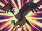Akazukin Chacha Shiine eagle transformation pose