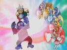 Doki Doki Special Doki Doki Pretty Cures purifying the Jikochu
