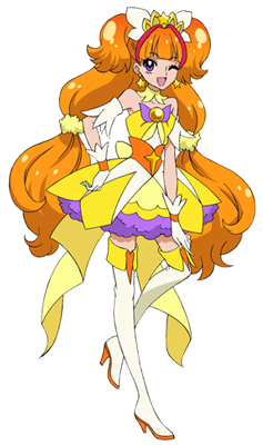 Go! Princess Pretty Cure Cure Twinkle pose3