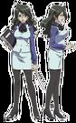 Moetan Rihoko pose