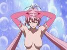 Lingerie Senshi Papillon Rose Tsubomi transforming9