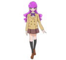 Kirakira Precure Ala Mode Yukari form School Pose