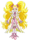 Pretty Cure Max Heart Movie2 Phoenix Shiny Luminous pose